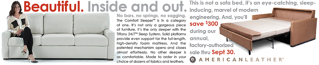 American Leather Comfort Sleeper Sale