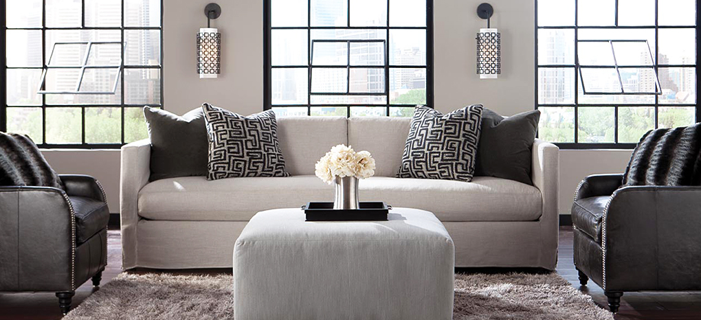 Upscale Contemporary Upholstered Furniture at Collectic Home