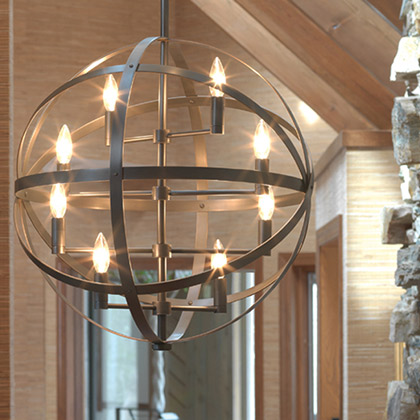 Contemporary Hanging and Pendant Lamps