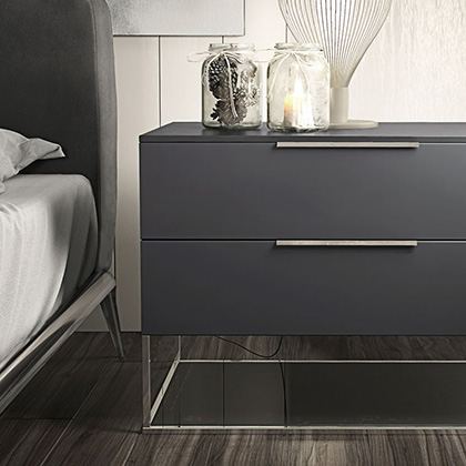 Contemporary Nightstands and Bedside Tables