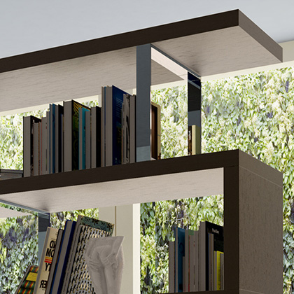 Contemporary Bookcases and Shelving