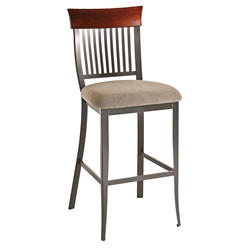 Annabelle Transitional Bar Stool by Amisco