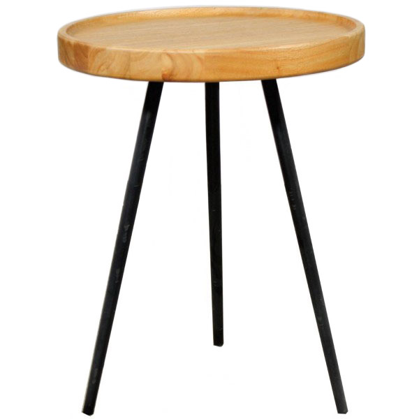 Azel Contemporary Side Table Collectic Home