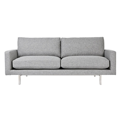 Bloor Contemporary Sofa in Parliament Stone by Gus* Modern