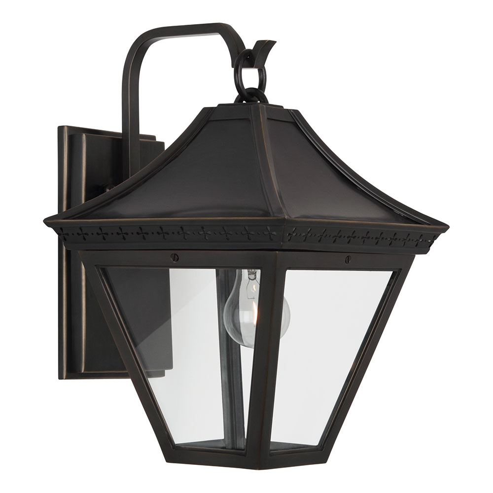 Charleston outdoor wall sconce contemporary wall sconce collectic home for Exterior light sconce