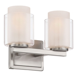 Eldred Contemporary Double Wall Sconce