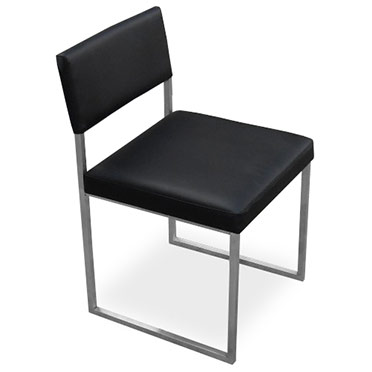 Graph Contemporary Chair by Gus Modern in Coal