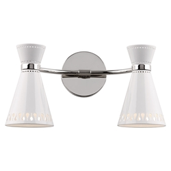 Havana Double Contemporary Wall Sconce