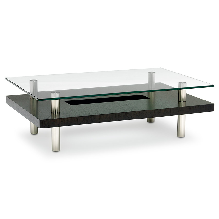 Hokkaido Contemporary Cocktail Table by BDI