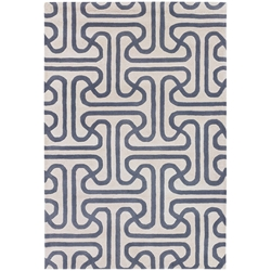 Iconic 8x10 Rug in Grey and Cream