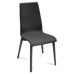 Jake Anthracite + Charcoal Modern Dining Chair