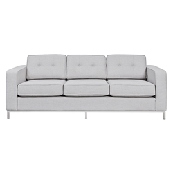 Jane Contemporary Sofa in Oxford Quartz by Gus* Modern