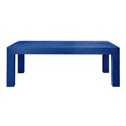 Parsons Blue Contemporary Coffee Table