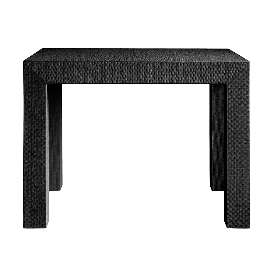 Parsons Black Contemporary Side Table