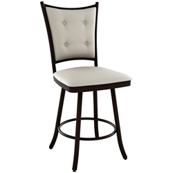 Paula Contemporary Bar Stool Shown in Oxidado