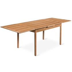 Portage Contemporary Extension Table by Gus Modern in Natural Ash