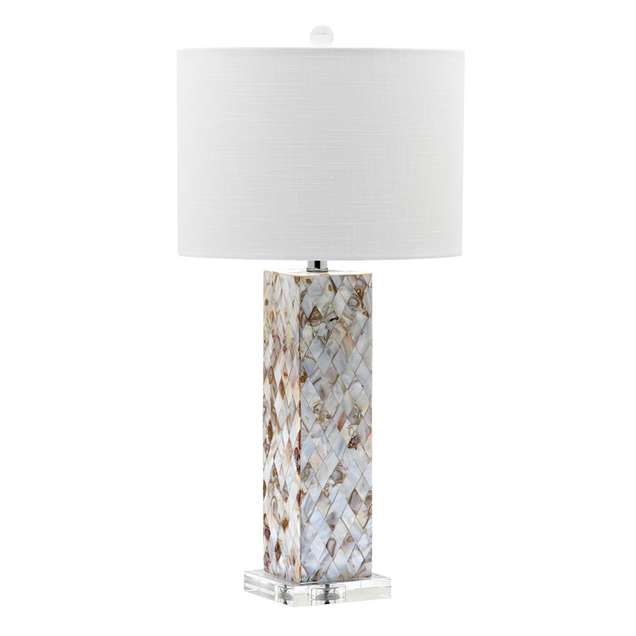 selma tall contemporary table lamp collectic home