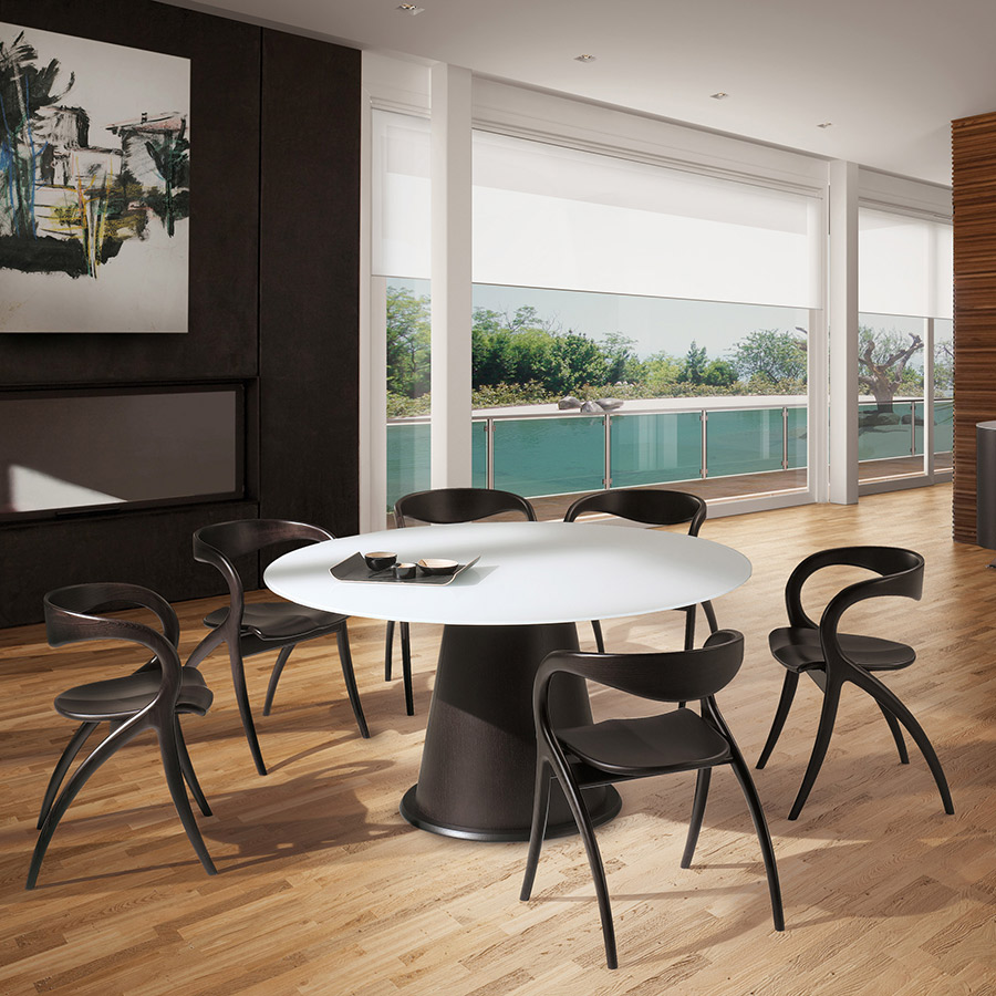 domitalia star modern dining chair collectic home