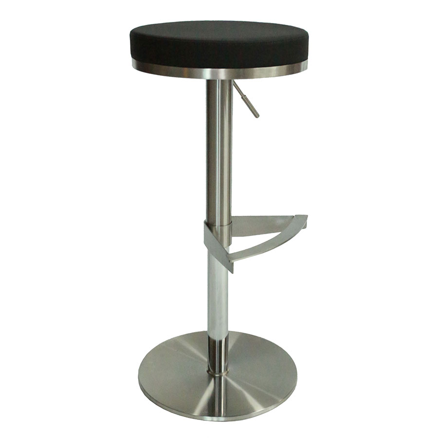 Vilma Black Adjustable Modern Stool Collectic Home