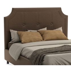Walton Contemporary Upholstered Headboard in Amazon Fabric