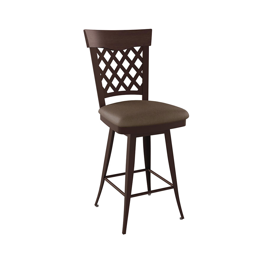 Wicker Modern Counter Stool By Amisco Collectic Home
