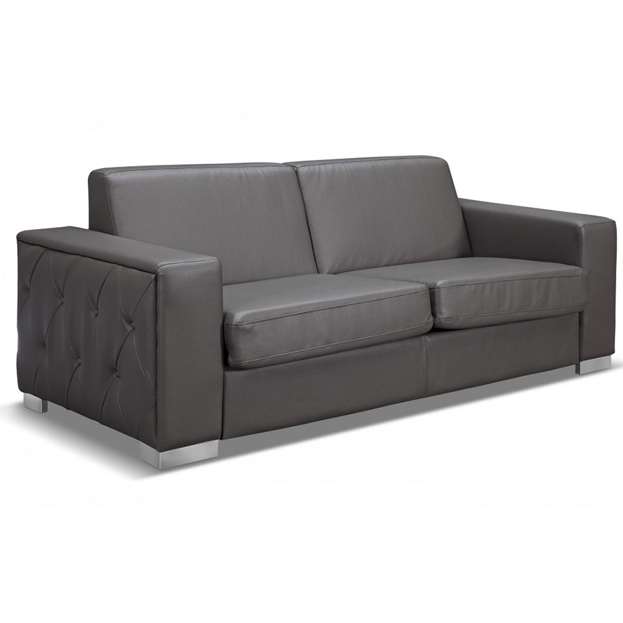- Allison Modern Gray Sleeper Sofa Collectic Home
