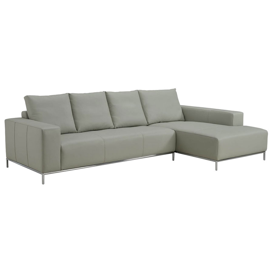 LEO SECTIONAL SOFA | GRAY