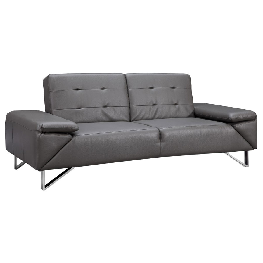 - Lippman Gray Contemporary Sleeper Sofa Collectic Home