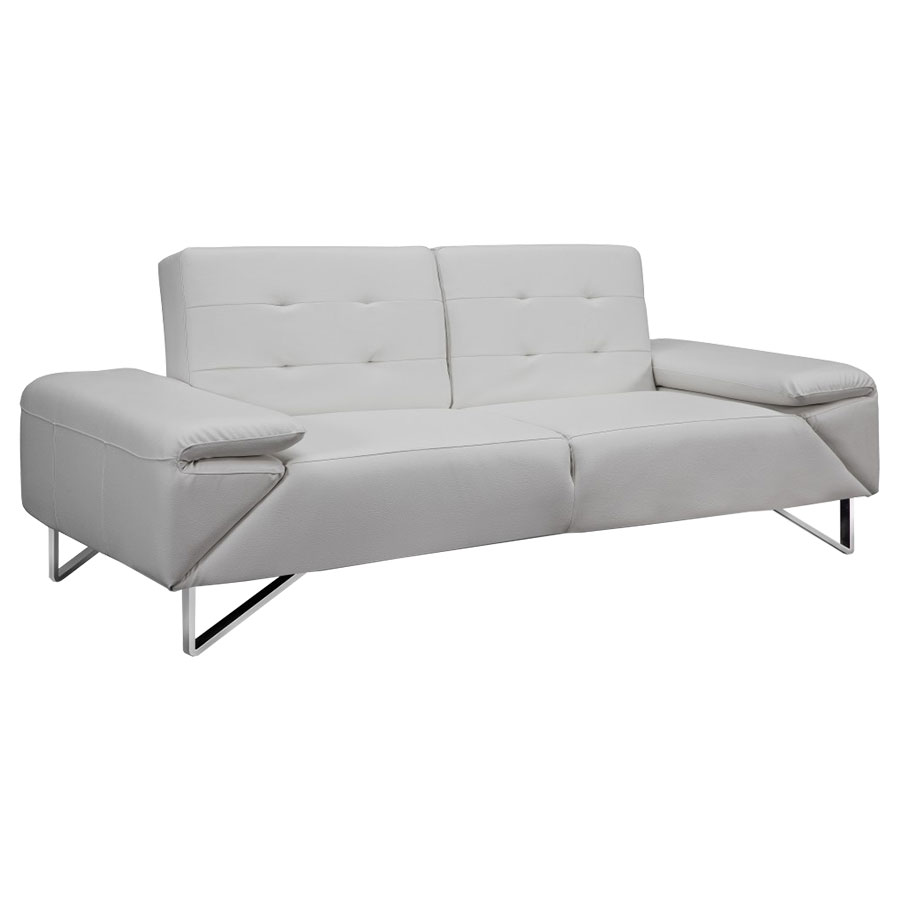 LIPPMAN SLEEPER SOFA | WHITE