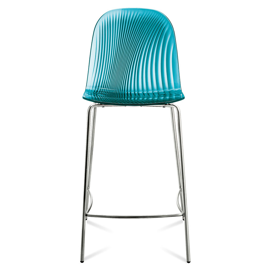 Awesome Plato Counter Stool Blue Set Of 2 Machost Co Dining Chair Design Ideas Machostcouk