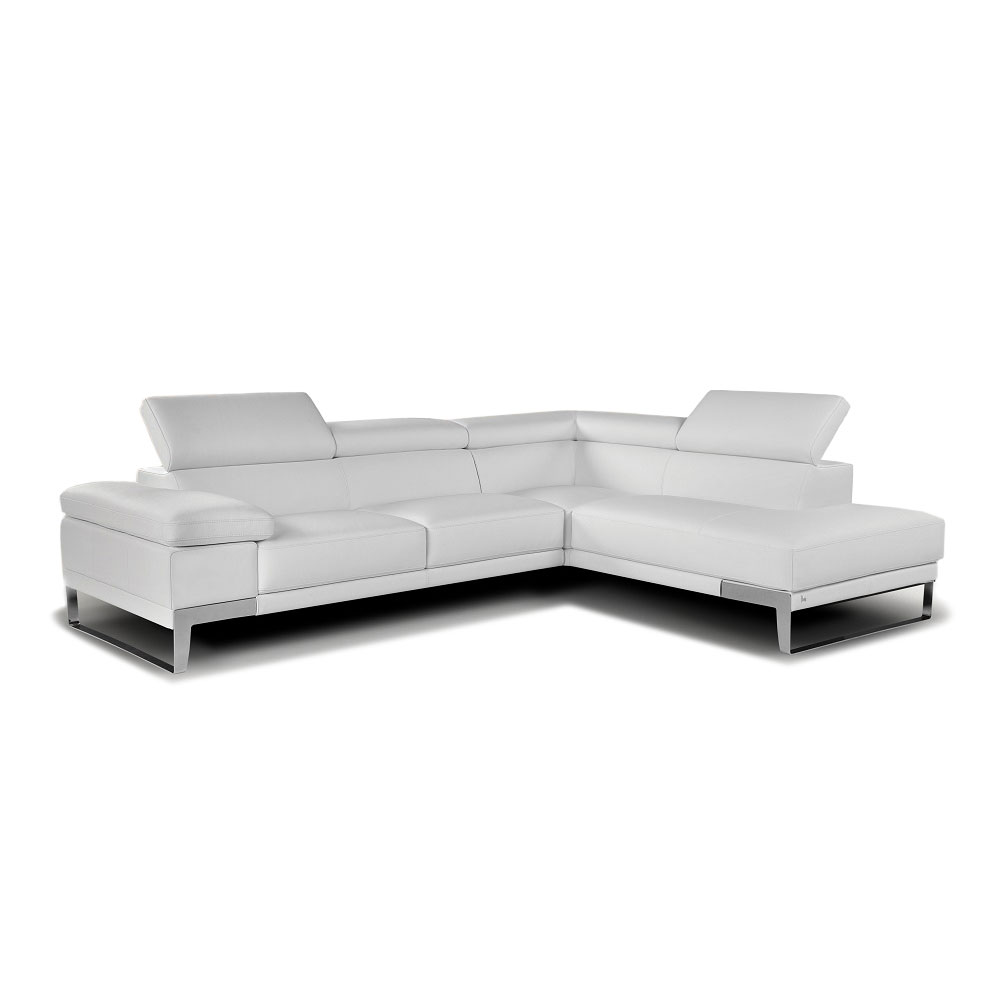 Nicoletti Leather Sectional