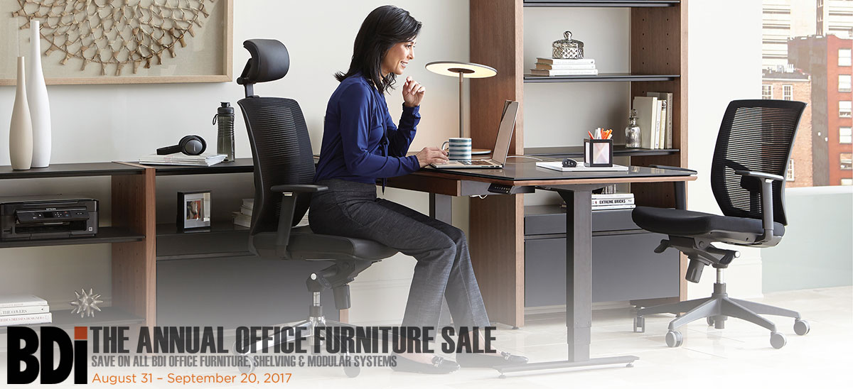 Save15% on all BDI Office, Shelving and Semblance! Act Now!