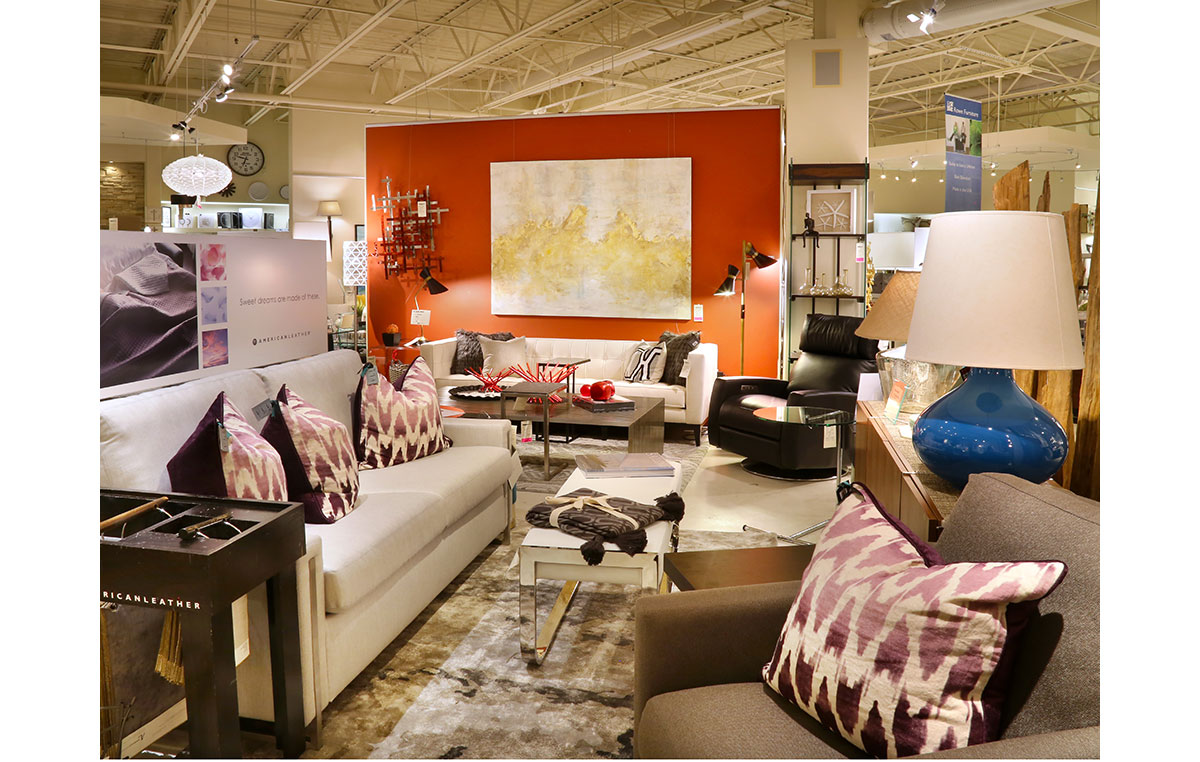 Contemporary Furniture + Accents in our Collectic Home Showroom - 2785 Bee Cave Rd #325 Rollingwood, TX