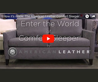 See How It's Made: American Leather Comfort Sleeper