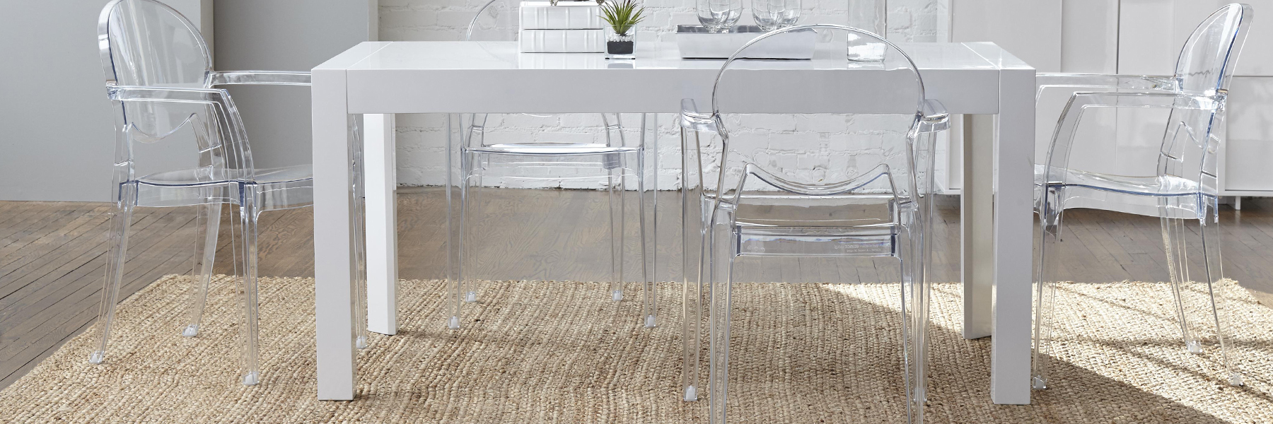 Upscale Contemporary Dining Room Furniture Showroom in Austin, TX