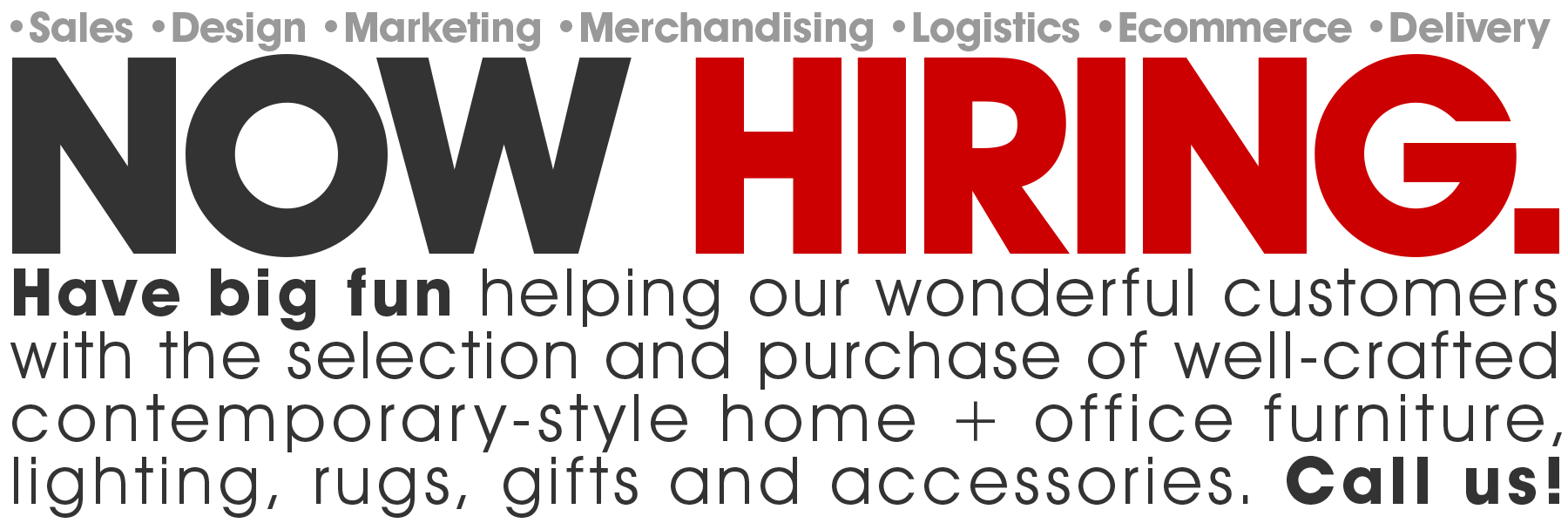 CollecticHome is now hiring! | Learn More >