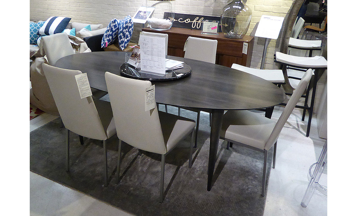 Contemporary Dining Vignette from our Collectic Home Showroom - 2785 Bee Cave Rd #325 Rollingwood, TX