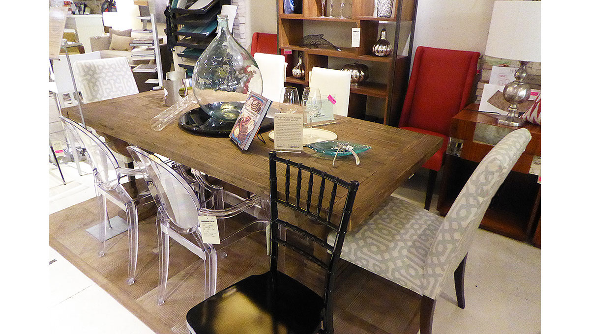 Dining Vignette from our Collectic Home Showroom - 2785 Bee Cave Rd #325 Rollingwood, TX