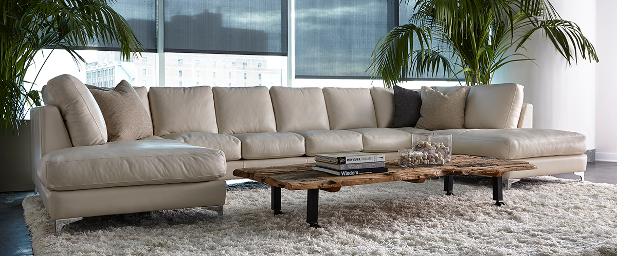 American Leather Kendall Sectional