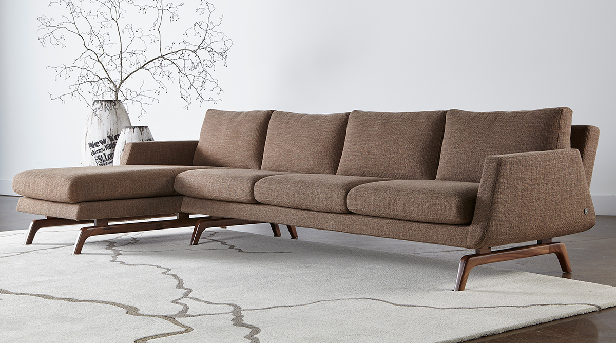 American Leather Nash Sectional