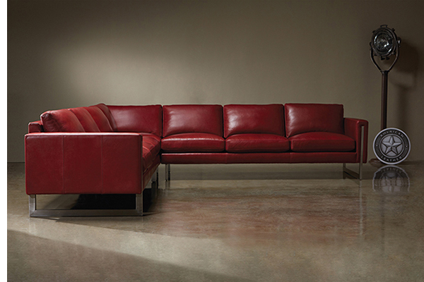 American Leather Savino Sectional