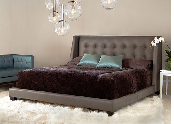 American Leather Shaw Bed