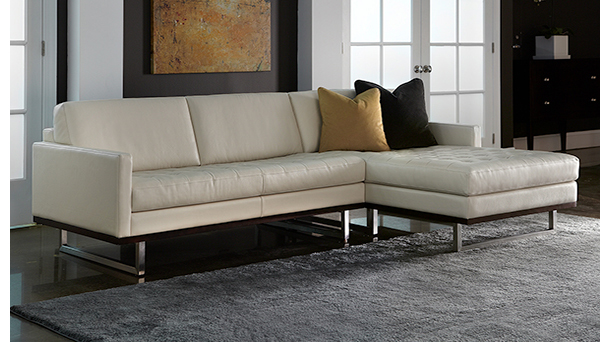 American Leather Tristan Sectional