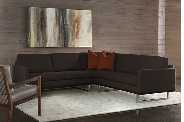 American Leather Sectionals Collectic Home Austin Tx