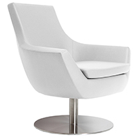 Barlow Modern Swivel Lounge Chair