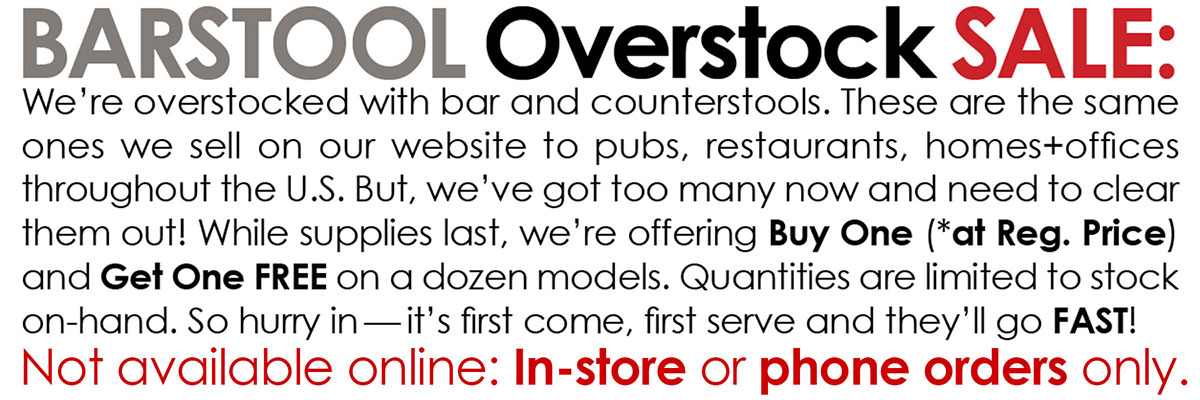 Collectic Home Barstool Overstock Sale