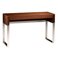Cascadia Walnut Contemporary Desk