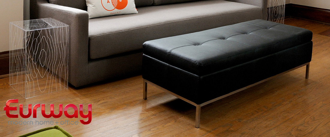 Shop for Modern Ottomans + Benches at Eurway.com
