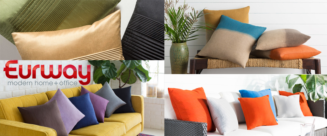 Contemporary Decorative Throw Pillows