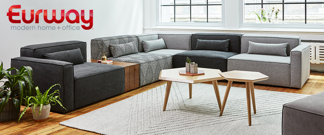 Shop for Modern Sectional Sofas at Eurway.com